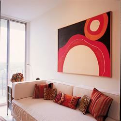Retiring in Style:  Warm colors, classic furnishings enhance condominium