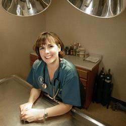 "Creature Comforter:  Veterinarian Missy Bruce says pets ""make people better"""