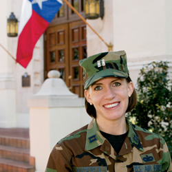Serving Their Country:  Military women assume a variety of roles