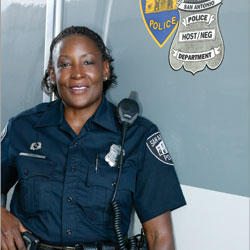 The Gals in Blue:  Police work may still be a man's world, but some brave women are proving themselves in the ranks
