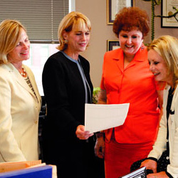 Women Rule!  Texas boasts the nation's first all-female appeals court
