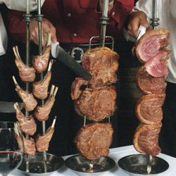 Chama Gaucha:  It's a paradise for meat lovers