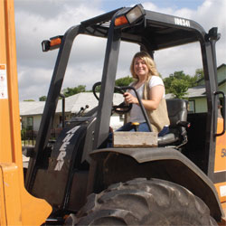 Building Houses and a Career:  Valerie Hendricks