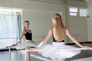 Prima Ballerina: She'll dance again in Dracula this fall