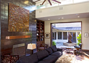 Music, Art and Family Thrive in Terrell Hills Home