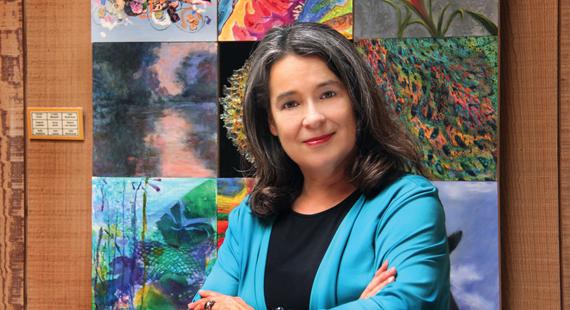 An Artist & a Leader: Sylvia Benitez