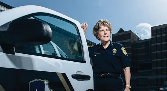 Woman on a Mission: Sheriff Susan Pamerleau