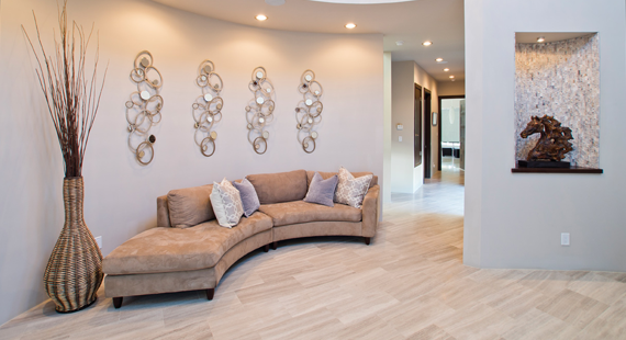 Contemporary Home for International Family Made for family entertaining