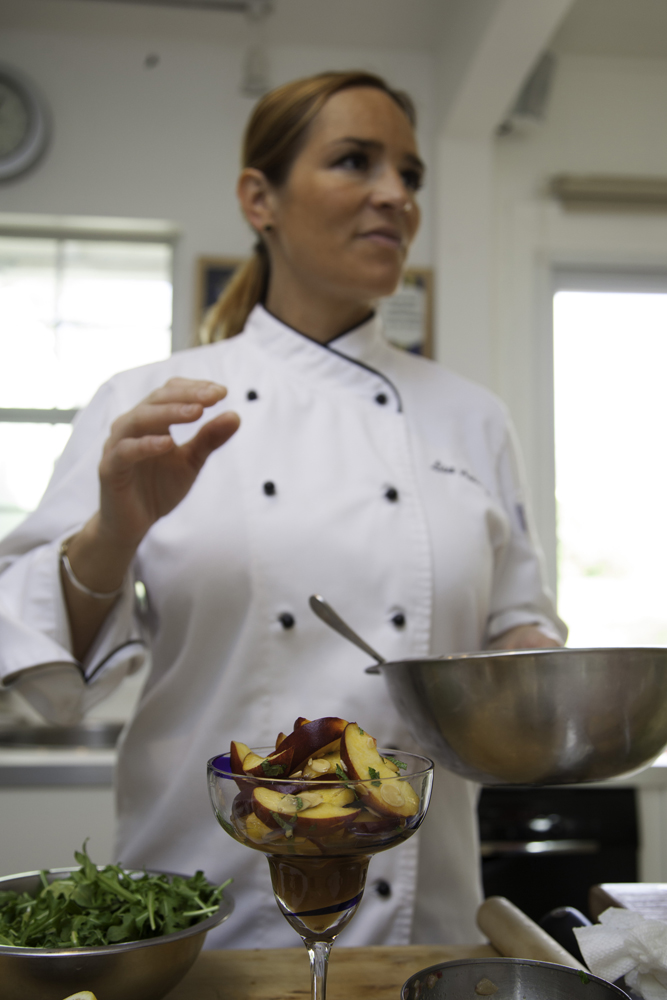 Recipes: Amaretto Peach Salad