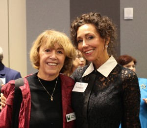 Chair Andi Rodriguez and Dr. Susan Blackwood from the San Antonio Women's Chamber