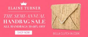 Elaine Turner Handbag Sale