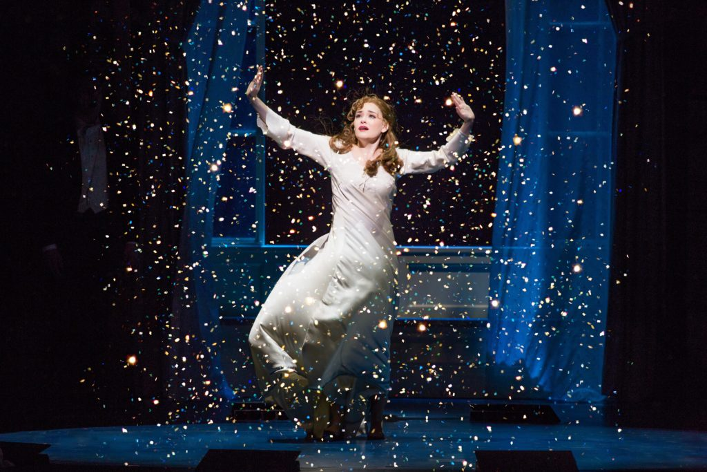 Christine Dwyer as Sylvia Llewelyn Davies in Finding Neverland - Credit Jeremy Daniel
