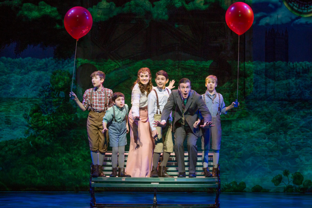 The Cast of Finding Neverland - Credit Jeremy Daniel