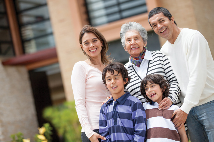 The Business of Family Cohabitation