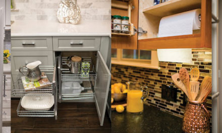 4 Clever Organizing Ideas for Cabinetry