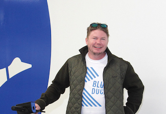 Eric Bell Takes Flight with  Blue Duck Scooters