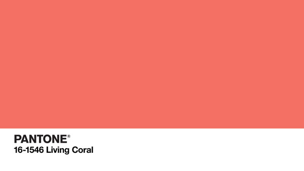 Living Coral is Pantone's Color of the Year