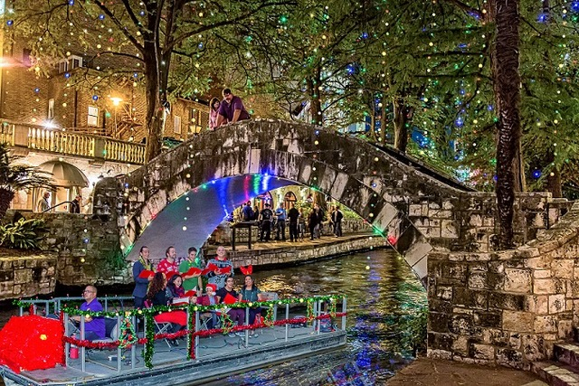 Ford Holiday Boat Caroling San Antonio Woman Magazine