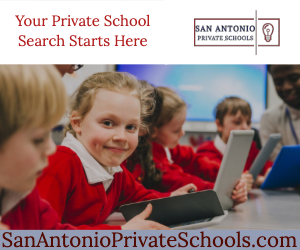 ad for San Antonio Private Schools website