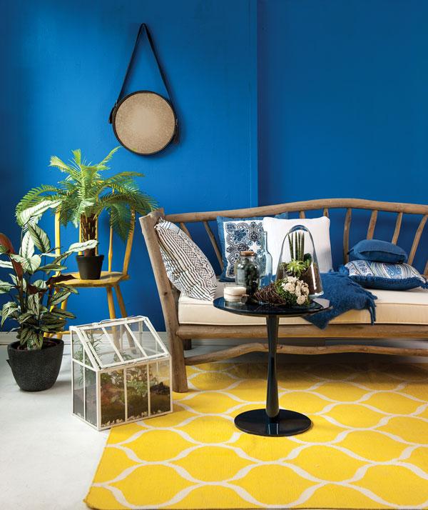 homeXtra rug yellow