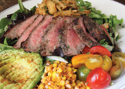 SOUTHERLEIGH'S GRILLED STEAK SALAD