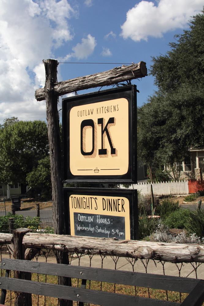 OK signage