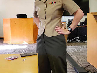 Marine Finds Passion in Practicing Law