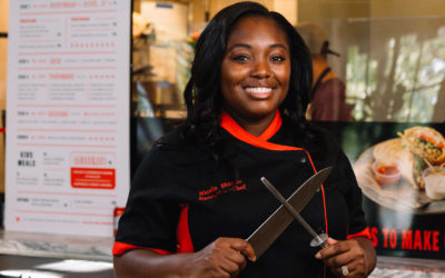 ROLE MODEL: Chef Nicola Blaque