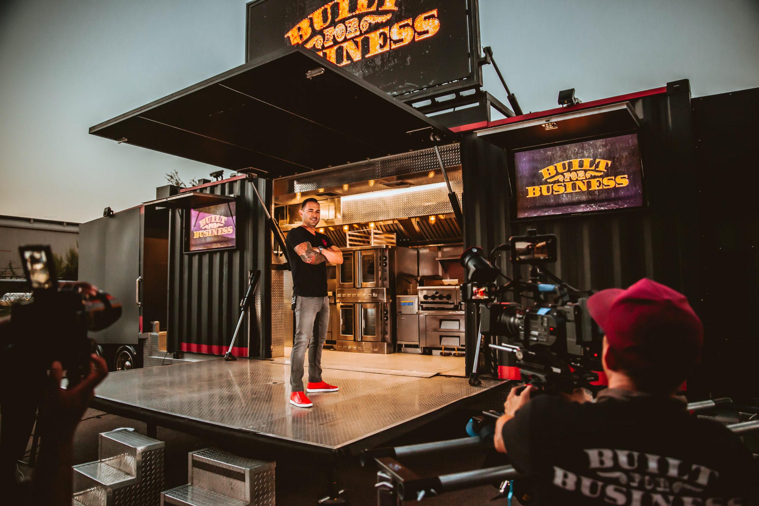Cameron Davies entertainment san antonio guy to know boxing cruising kitchens food truck