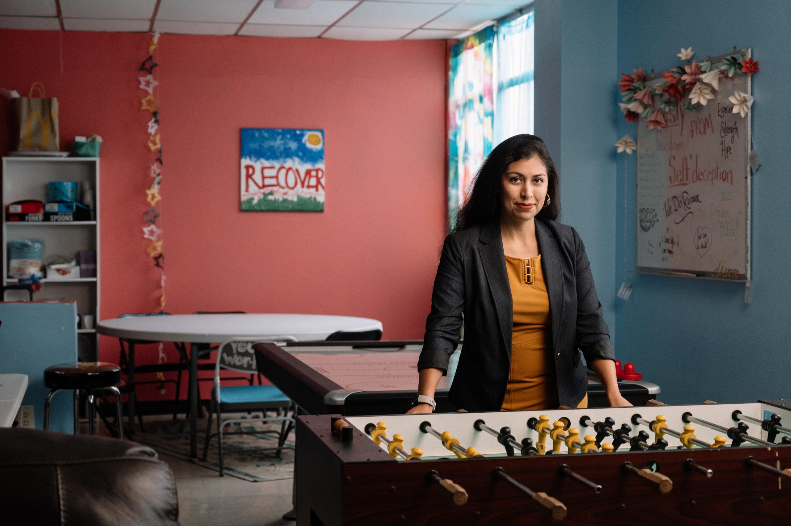 Evita Morin san antonio woman rise recovery treatment nonprofit