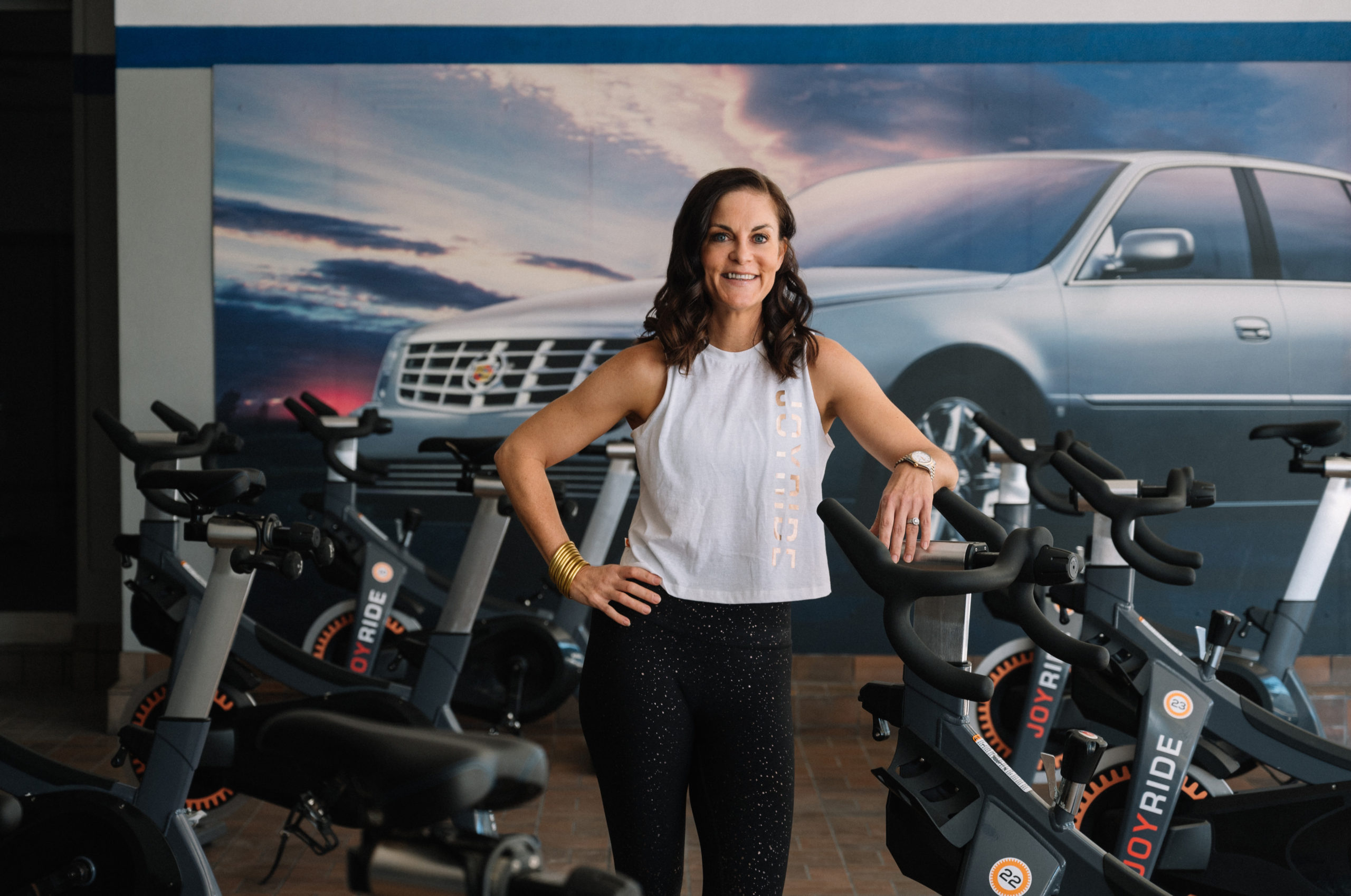 Kelly Middleton san antonio woman feature story joyride cycling and fitness