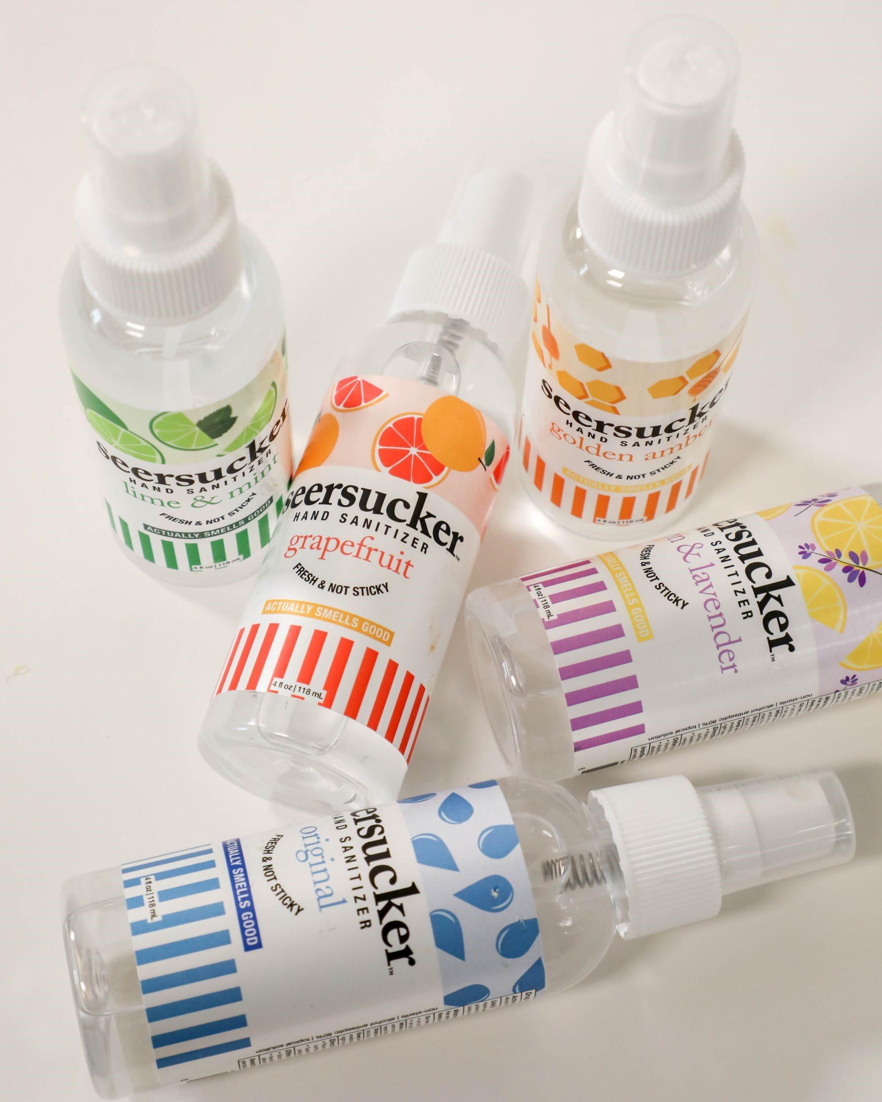 Seersucker azar family brands hand sanitizer gift idea san antonio