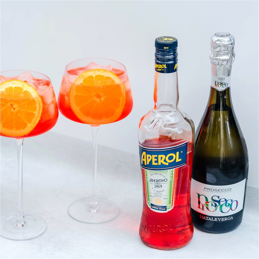 Twin Liquors aperol spritz cocktail package
