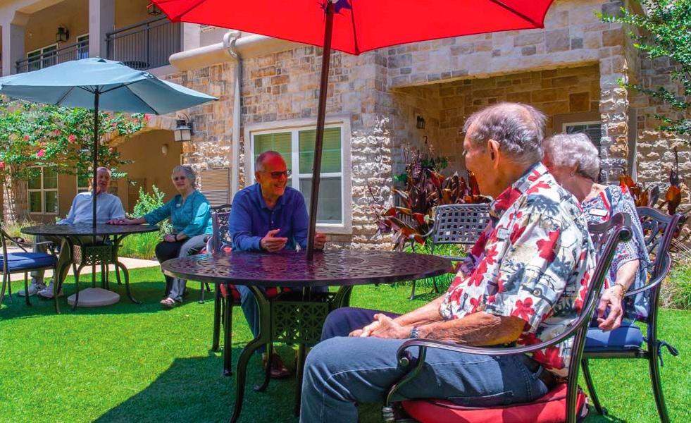 Franklin park senior living retirement home texas san antonio