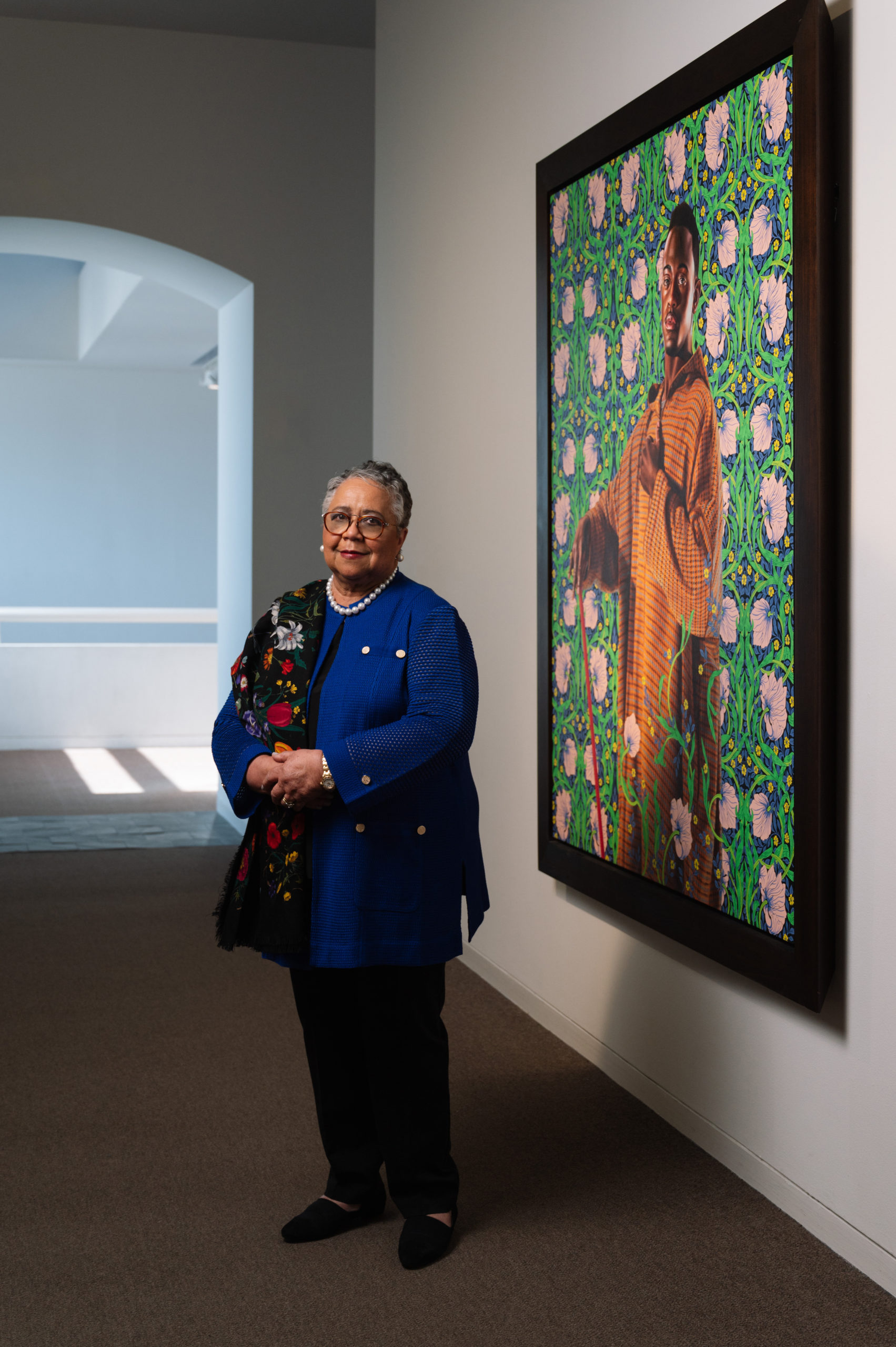 Harriet Kelley Cover woman african american art collection curator