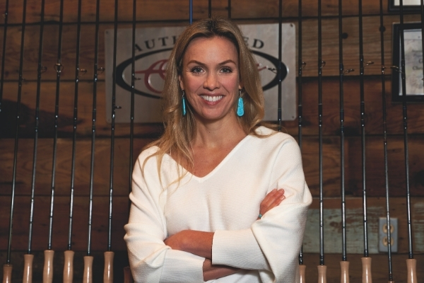HILL COUNTRY WOMAN: Tiffany Yeates