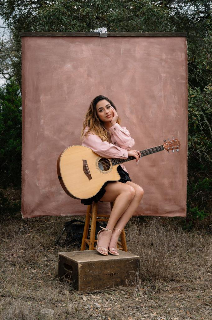 AllyBrooke CoverStory MayJune 2021 guitar 1