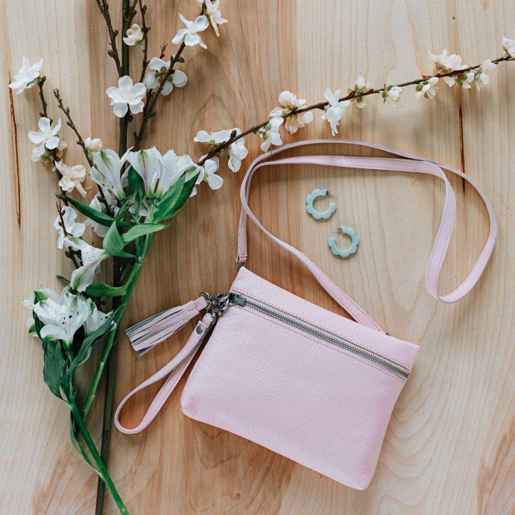 pink purse TenThousandVillages