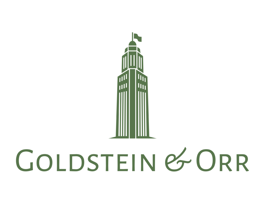 Goldstein and Orr Company Logo Green