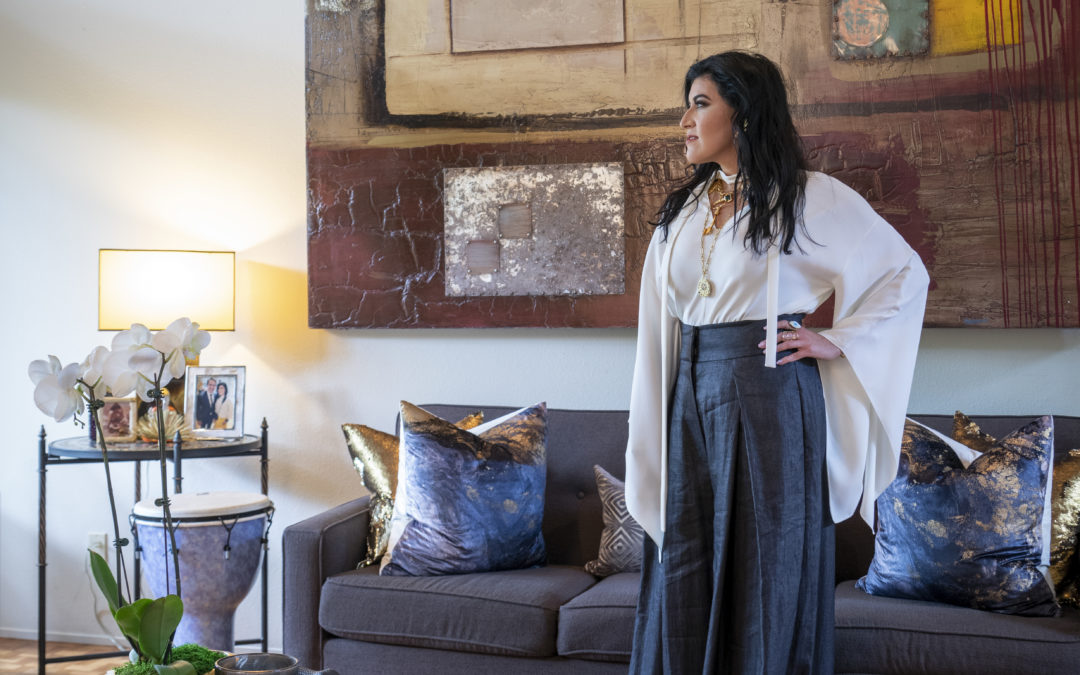 At Home: Electric Eclectic