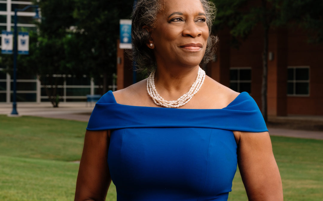 Feature Story: Dr. Adena Williams Loston – Aiming Higher for Higher Education